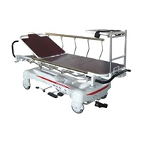 RS111-B-B Luxurious Hydraulic Rise-and-fall Stretcher Cart