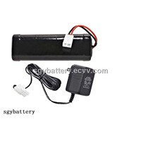 Replacement Battery for Irobot Looj Gutter Cleaning Robot Models 120 130 150 Ni-Cd 7.2v Battery Pack