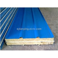 Rockwool sandwich panel for wall  fireproof and waterproof material (manufacture)