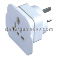 SAA  2 outet  socket  | power cord cable |extension cord plug |rounding adaptor