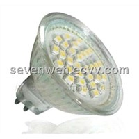 SMD 3528 GU10/E27/MR16  LED spot light