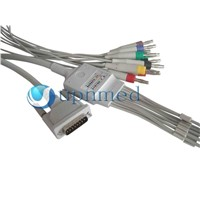Schiller EKG Cable with 12 -leadwires