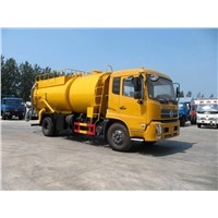 Sewage Suction Truck with Cleaning Fuction