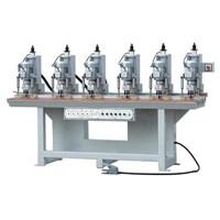 Six-head Hinge Boring Machine