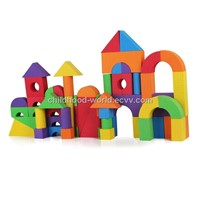 Soft building blocks(60-Piece )--own brand and design