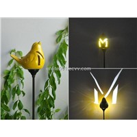 Solar Ground Light,Ceramic Material,LED Lamp,1.2v200mah Rechargeable Battery,Garden Decoration