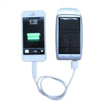 Solar Power Bank with 4500mAh for iPad/iPhone