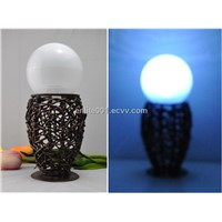 Solar Table Decoration Light,LED Lamp,Made of Metal,NICD Rechargeable Battery