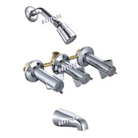 South America Tub & Shower Faucet/ Mixer/ Valve Ceramic Disc Cartridge Monomandoono Griferias