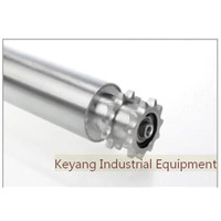 Steel Sprocket Drive Conveyor Roller