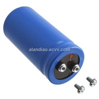 Stud Mount Metal Can Capacitor