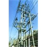 Substation steel framework,power substation structures,substation gantries,steel structure