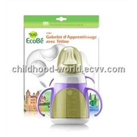 Teat-imitating Drinking Trainer Cup for Infants, Ecobe A 301