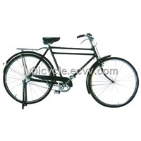Traditional bicycle with pump and light  for sell