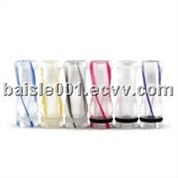 Transparent 510 Drip Tip with Color Bar,For 510/901Atomizer&cartomize