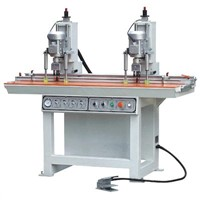 Two head Hinge Boring Machine