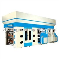 WQC Type Doctor Blad Flexographic Printing Machine