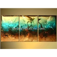 Well designs abstract oil painting for living room