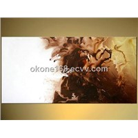 Wholesale abstract flower oil painting