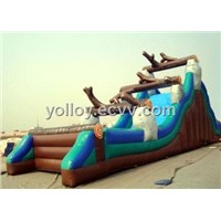 Wild Rapid Water Ride Inflatable Slide for Commercial Rental