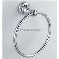 brass chrome plated towel ring
