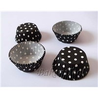 classical elegant polka dots cupcake liners for Mother's Day