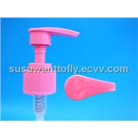 colorful plastic lotion pump
