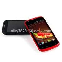 dual core android 4 mobile phone with 1GHz CPU