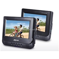dual-screen 7'' car DVD player