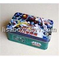 game card tin box
