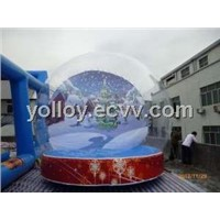 Life Size Snow Globe Human Size Lawn Dome for Sale