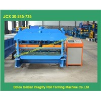 metal roofing glazed tile roll forming machine