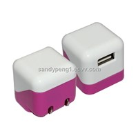mini usb charger,travel charger,folding wall charger usb charger  iphone charger