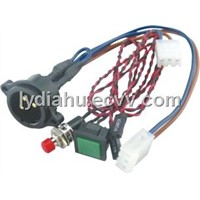 power cable with button