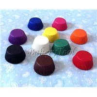 promotional cupcake liners paper baking cups with plain color
