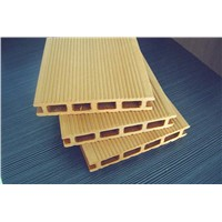 recyclable plastic wooden laminated flooring&wpc decks
