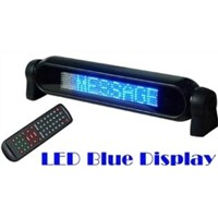 remote led mini sign,car led display-a750