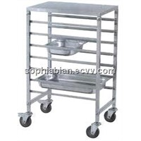 stainless steel food storage shelves