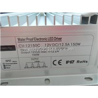 waterproof led driver 150W for led strips led street lights