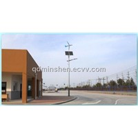 wind and solar street light system