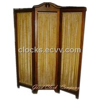 wood folding screens