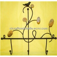 metal iron wall hook wall hanging for home decor