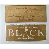 self adhesive luxury bottle labels