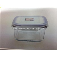 square food container with PP lid EW12306