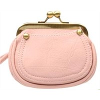 2012 New Cosmetic Bag Retro Pearl Buttons Korean Women Bag Clutch