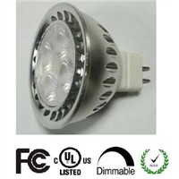 Hot Sale AC/DC12V 4W MR16 Dimmable Spot light with UL and FCC list