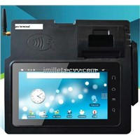 Mobile POS system,POS Terminal,Mobile computing,Magnetic Card strip Track,Thermal printer