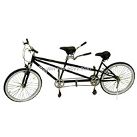 "Suspension shimano 6speed Tandem bicycle/26""city tandem bike"