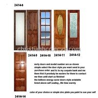 Enegery Saver Bellows Entry Doors