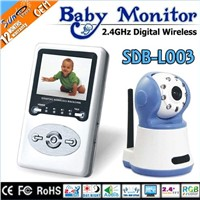 Wireless Digital two way speaker baby monitor